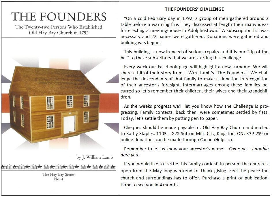 Founders' Challenge