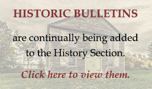Click here to view past historic bulletins